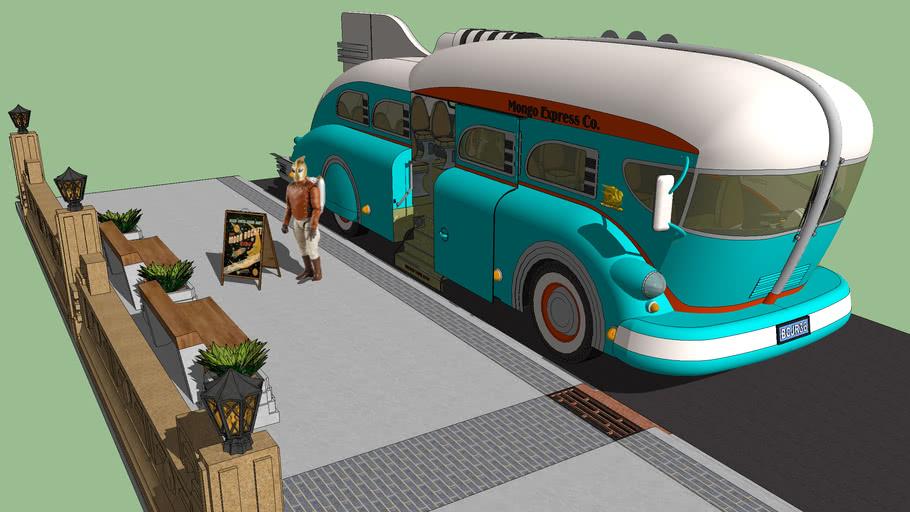 GM Rocket Inspired Bus 1936
