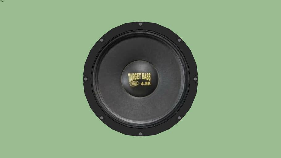 alto falante target bass