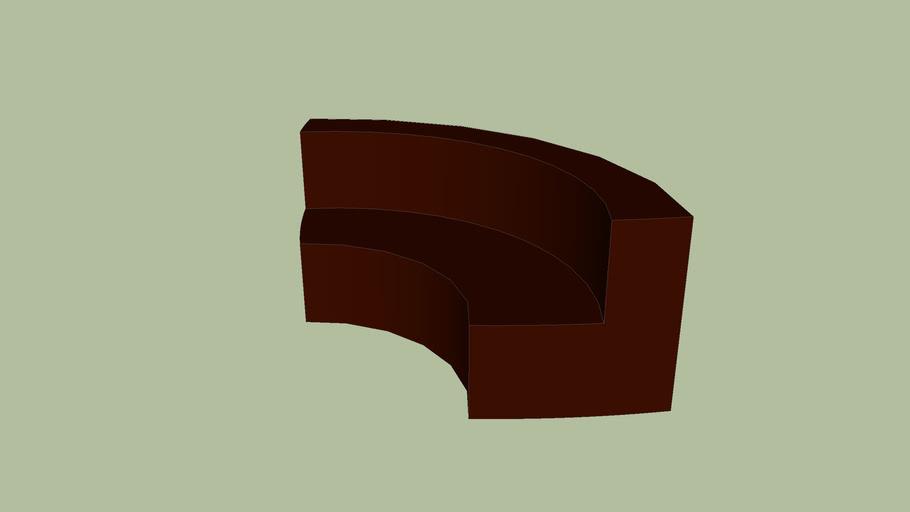 canape BEAN chocolat