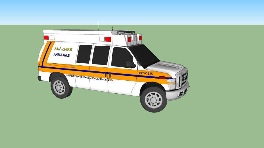 Jan Care Medic 115
