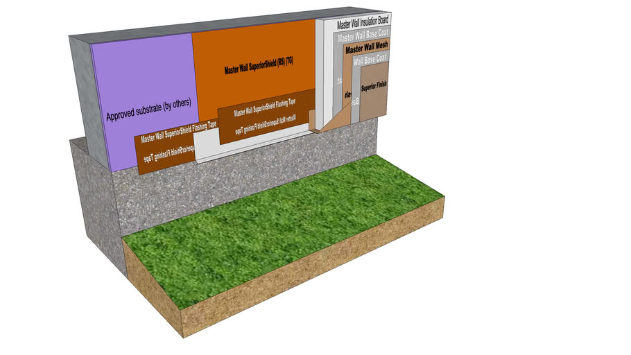 Rollershield Drainage CIFS™ Weep Screed Termination