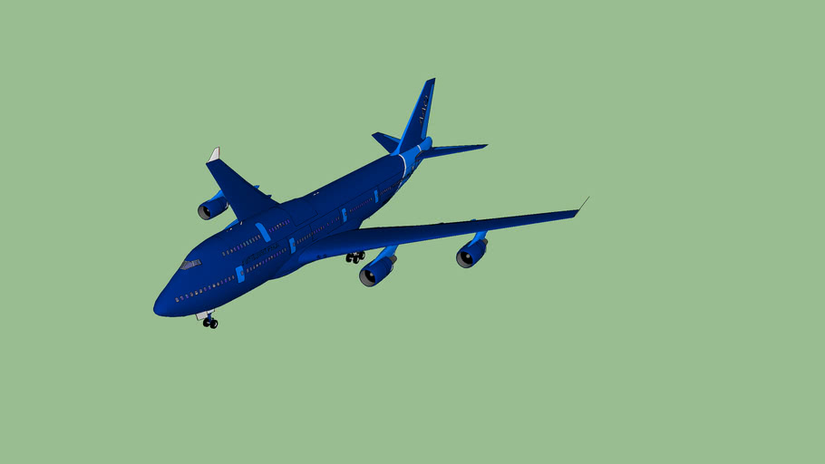 AirAtlanticOcean B747-400 with interior (3MB ONLY!!!)