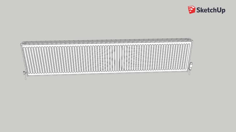 2400 by 500 mm radiator