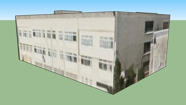 Building in Peristeri, Greece