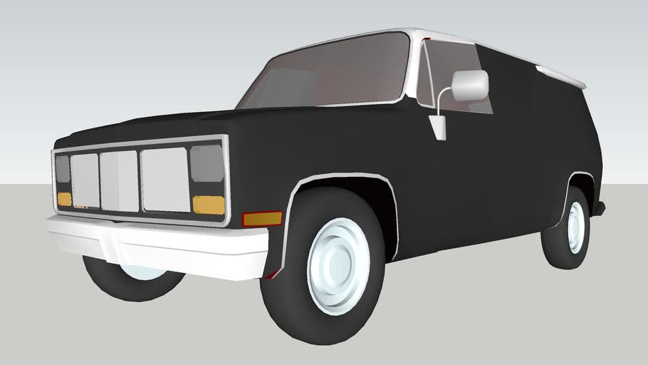 70s/80s GMC TruVan (Concept Truck)