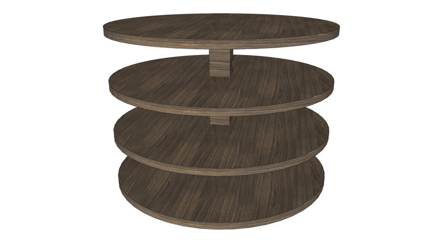 4 Tier side table