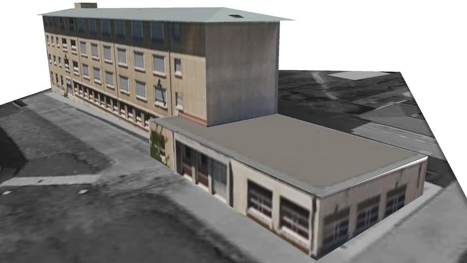 Building 2, Lycée Martinière Duchère