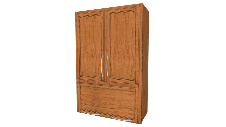 Wall Cabinets - Hanley Maple Praline by KraftMaid® Cabinetry