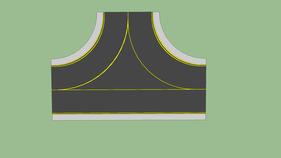 3-way taxiway