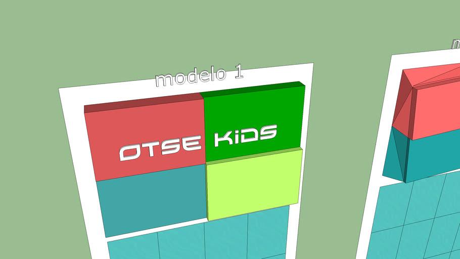 Painel da Loja do Enos e Odete Otse Kids