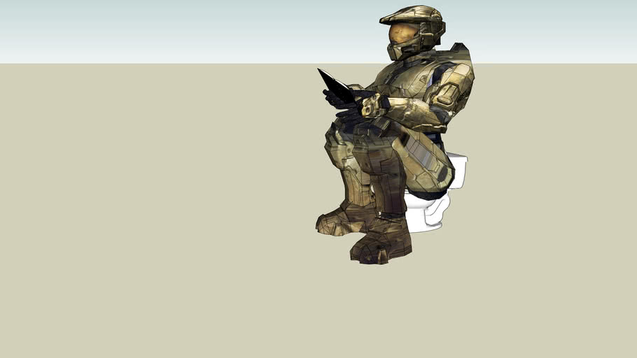 Master Chief Dropping off Kids