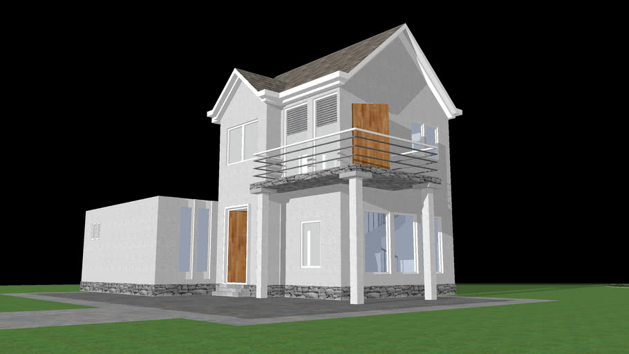Youtube || Speed SketchUp - My 4th House