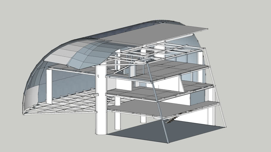 Curve and trapeze Home