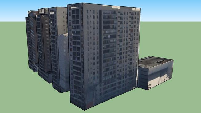 Edificios Residenciales en Santiago, Chile