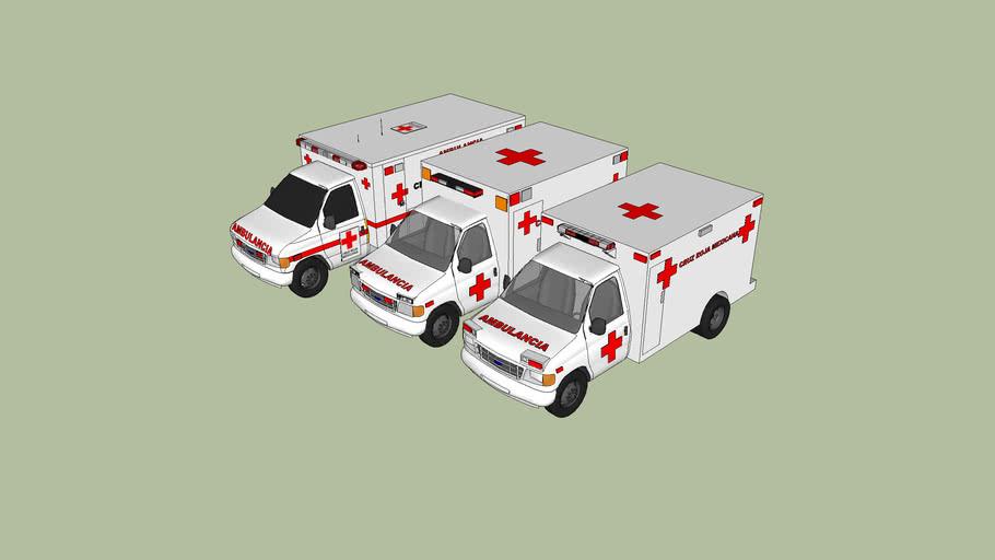 ambulancias de la cruz roja mexicana delegacion de chihuahua