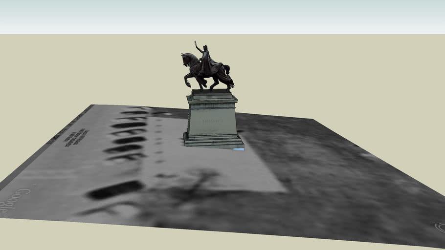 Statue of Saint Louis @ Art Museum - 2nd Model