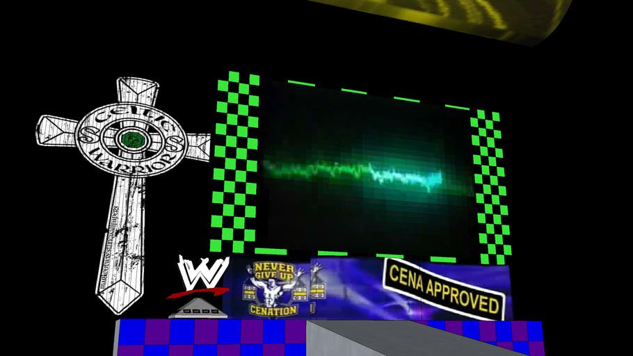 Mixed WWE Entrance (John Cena, Sheamus, DX and Nexus)