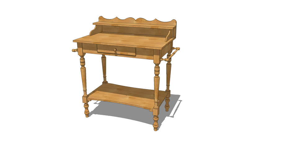 Vintage French Wash Stand Warehouse
