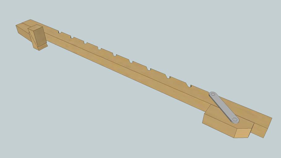 Wood Wedge Bar Clamp