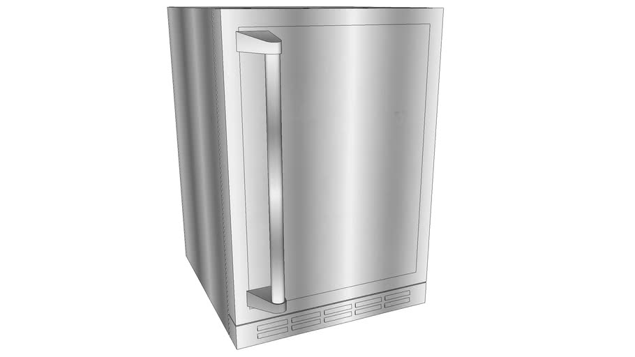 outdoor viking fridge