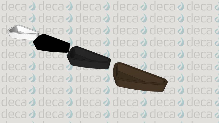Deca Cuba de Apoio Triangular Cubas de Apoio - Código L.1034