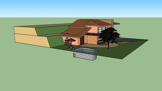 casa terreno irregular