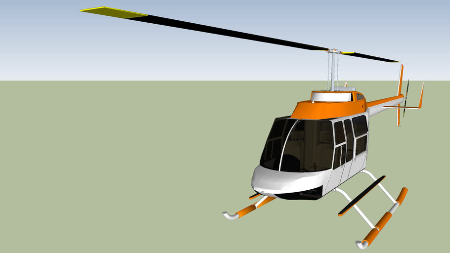 Bell206L Helicopter