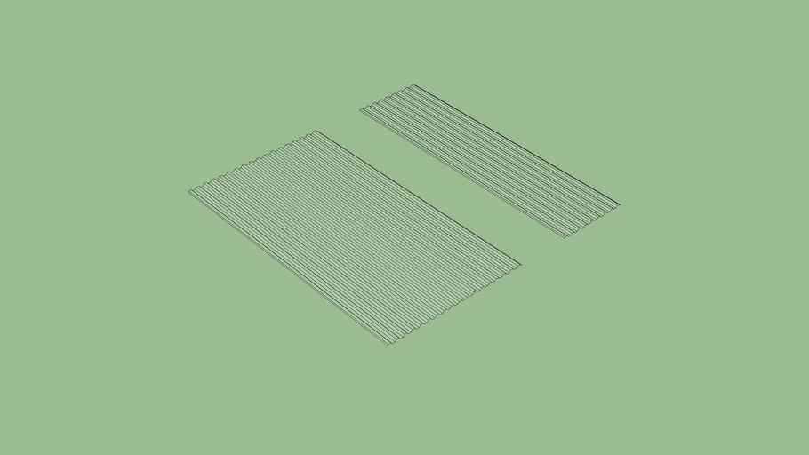Suntuf Clear Roofing Panels 3d Warehouse