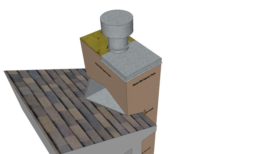 Rollershield Drainage CIFS™ Chimney Cricket Detail