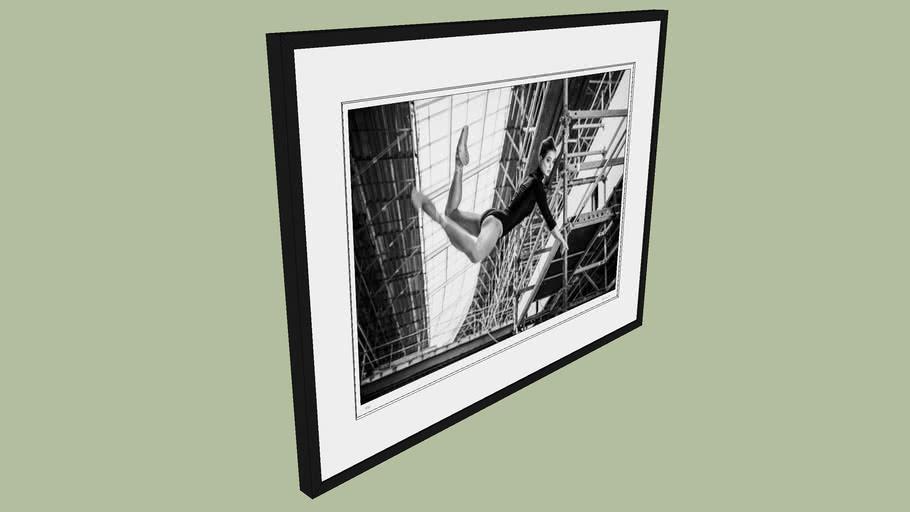 "BRODZIAK ""Ballerina #18"" 98x74 cm - Black&White, Photography, Image, Picture"