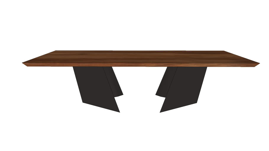 Modern Industrial Dinning Table