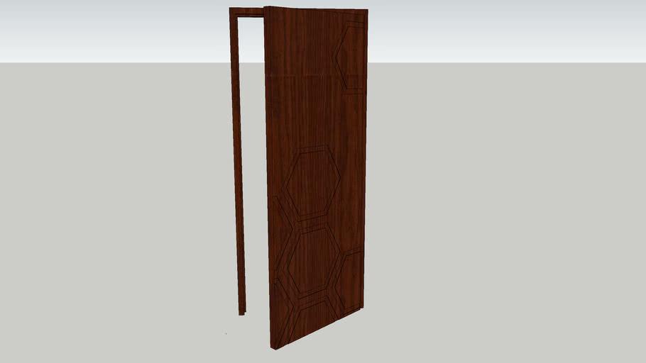Door / Drzwi płytowe Modern 20