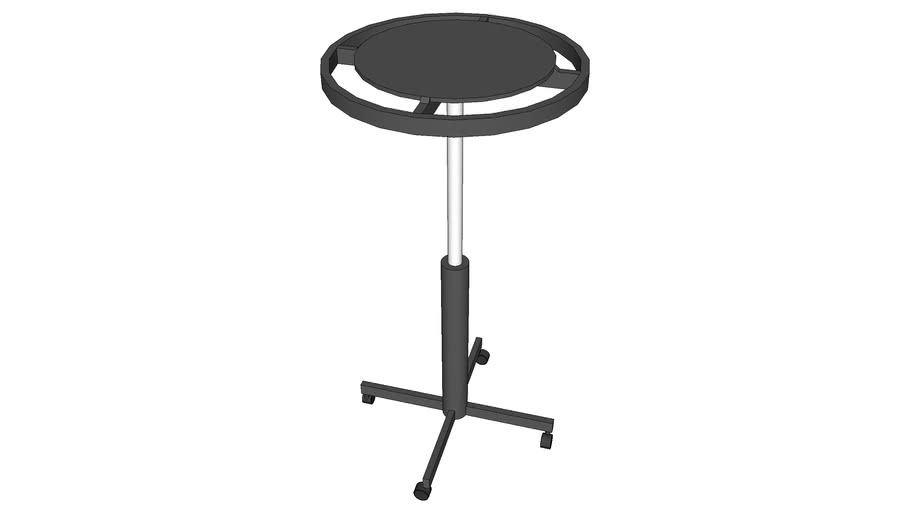 """32"""" Rounder with casters"""