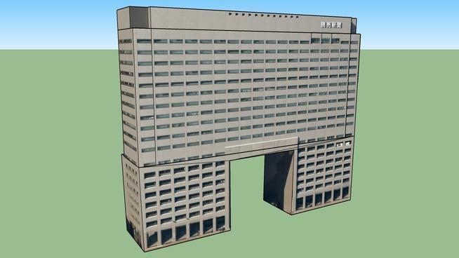 Edificio en 〒135-8402