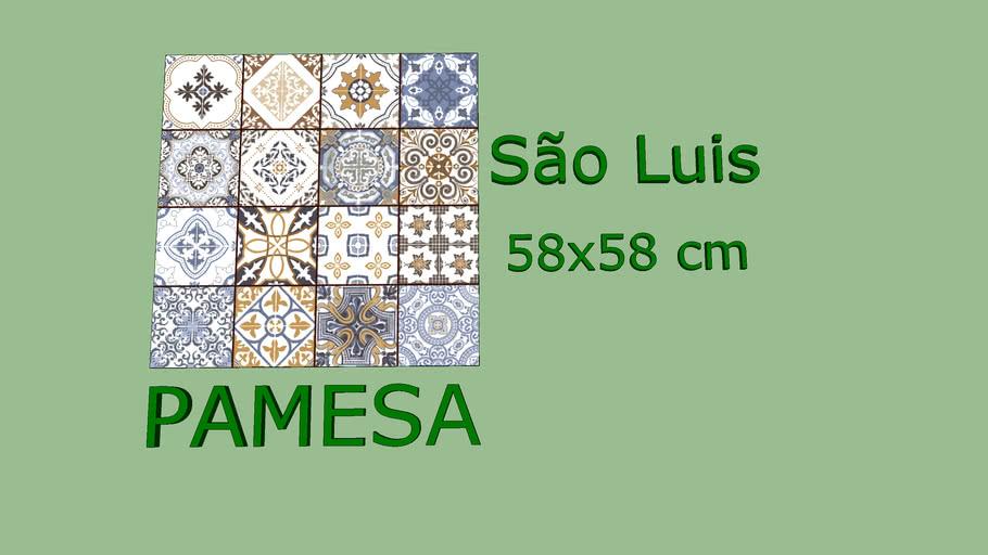 PAMESA Piso São Luis 58x58cm