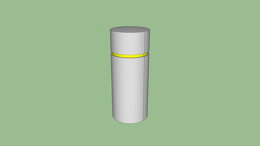R-7341 stainless steel bollard cover
