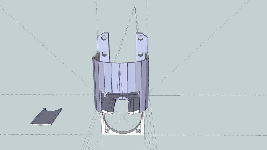 lcheapo laser holder for flyingbear v0.1