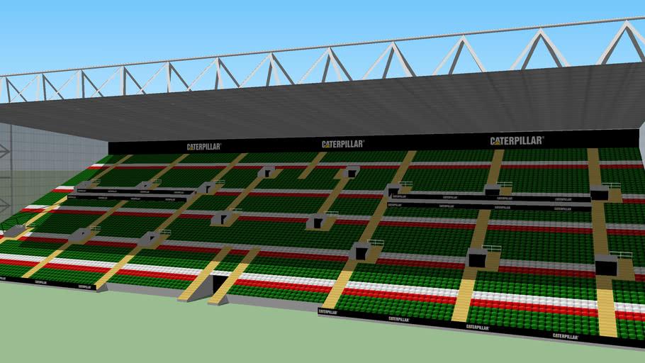 Caterpillar Stand - Welford Road Stadium