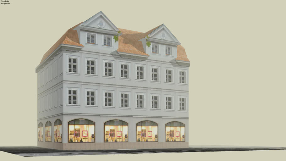 01-38 Fachwerkhäuser am Kohlmarkt