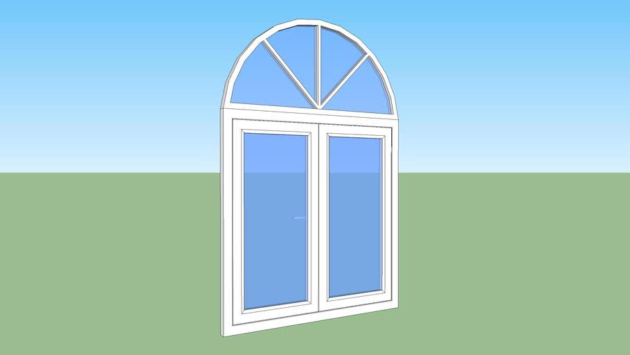 Aluminiun window LP2
