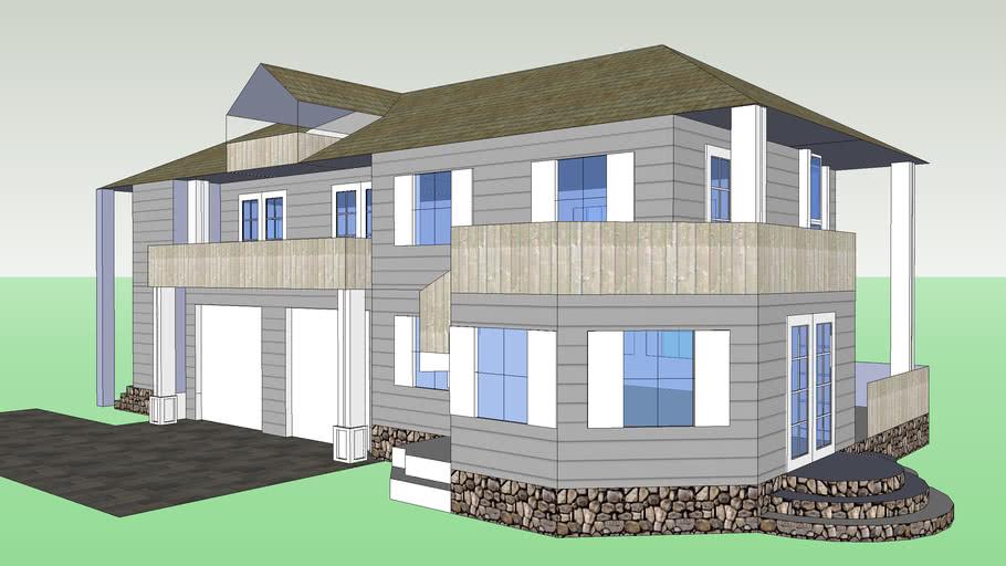Narrow-Lot House