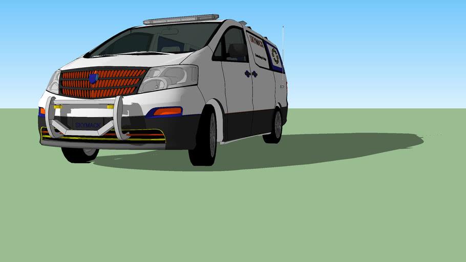 A Skymack Van The Second