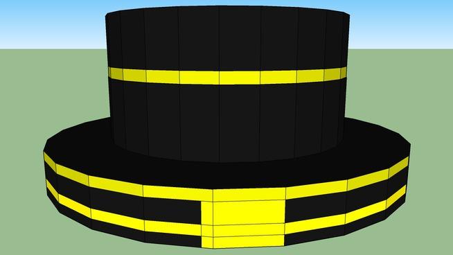 golden top hat
