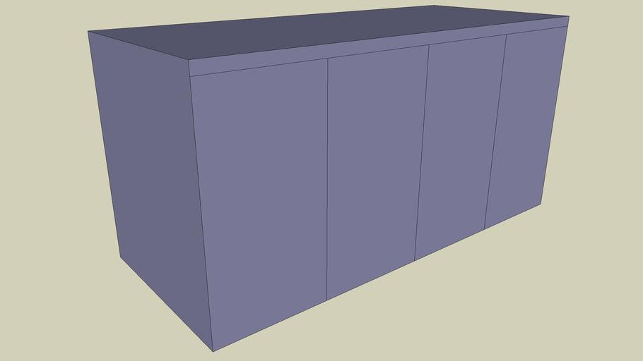Large Supply Base Cabinet