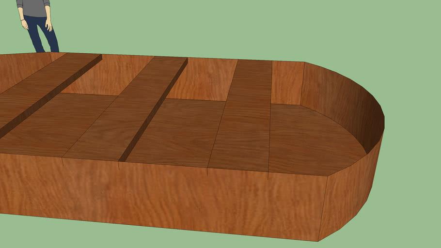 Awsome Wooden Boat