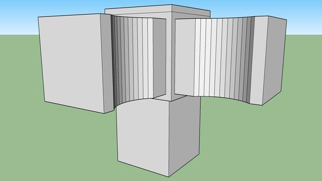 角紙管配件 3T上段用