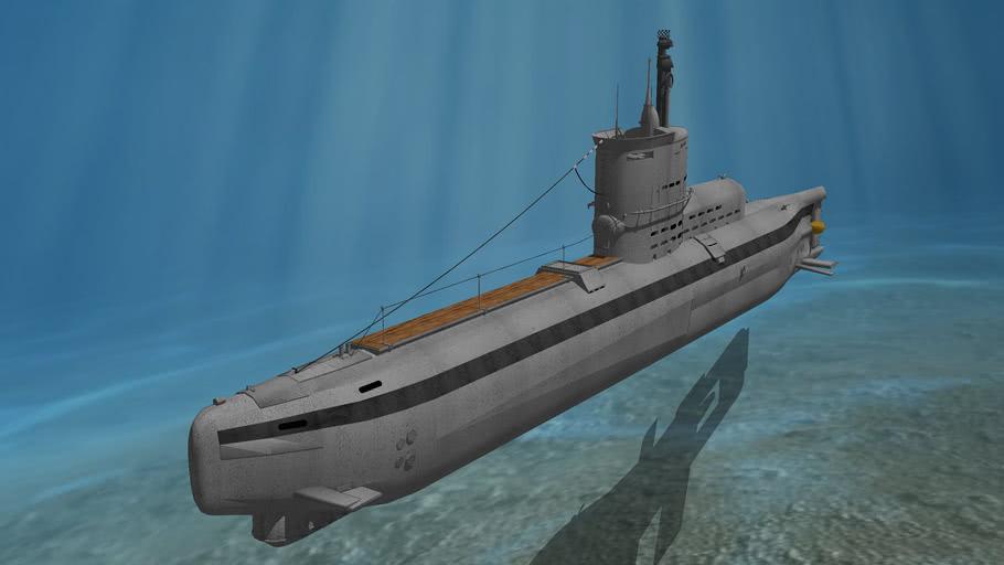ww2 1945 german submarine type 23d u-boat ELECTRO-U-BOOT