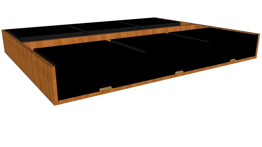 CB2 Stowaway Bed