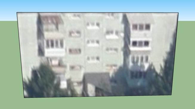 Building in Brașov, Romania