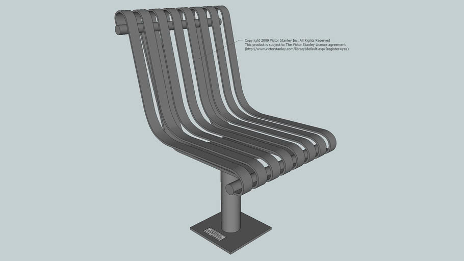 NRS-19 Steelsites™ Series 19-inch Seat